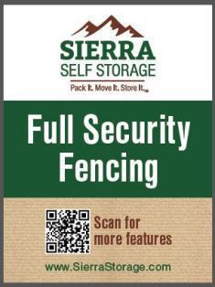Full perimeter fencing!