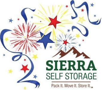 Sierra Self Storage 4th of July logo 300