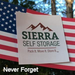 Sierra Self Storage Logo Memorial Day Logo 300