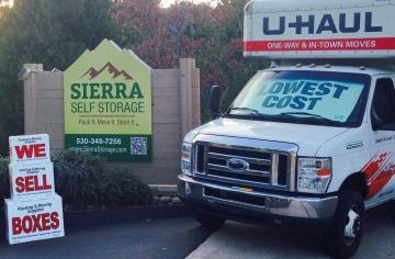 Sierra Self Storage Front