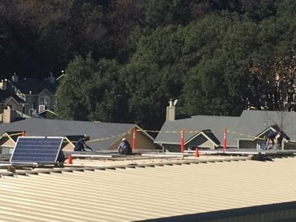Solar powered storage!