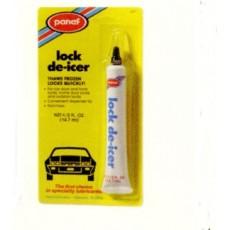 Lock de-icer