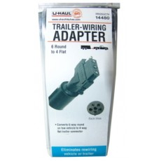 Wiring adapter 6 round to 4 flat